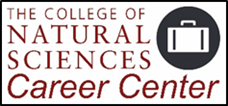 Link to the College of Natural Sciences Career Center page